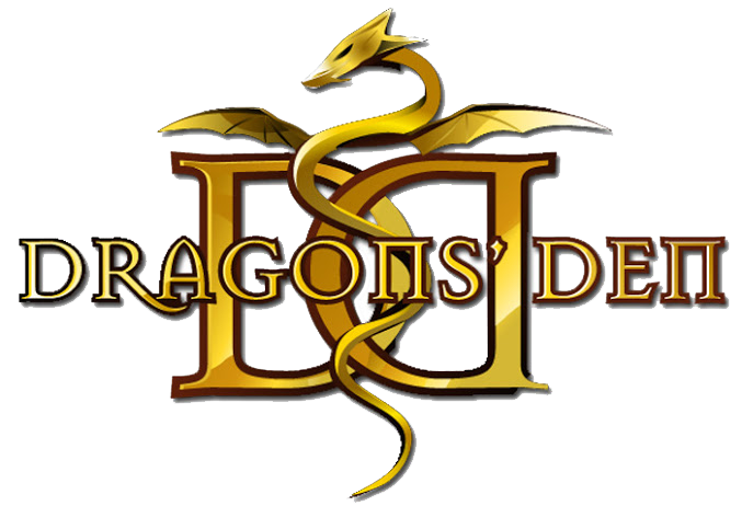 As seen on Dragon's Den Badge